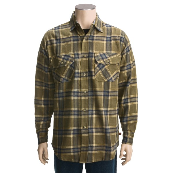 Dakota Grizzly Logger Flannel Shirt - Long Sleeve (For Men)