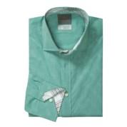 Men's Extra Large Tall Thomas Dean Checked Shirt