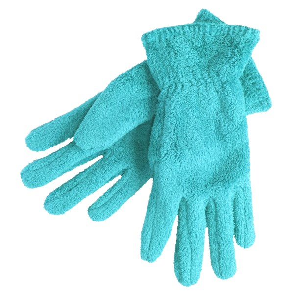 White Sierra Cozy Fleece Gloves