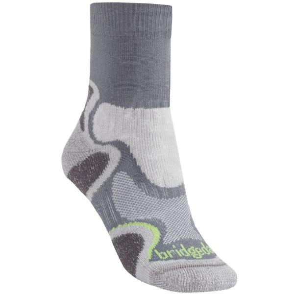 Bridgedale X Hale Light Hiker Socks (For Women)   GREY/WINE (S )