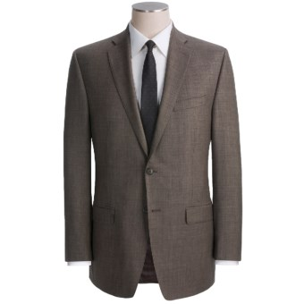 Lux-ID 202445  Calvin Klein Wool Sharkskin Suit - Modern Fit (For Men)