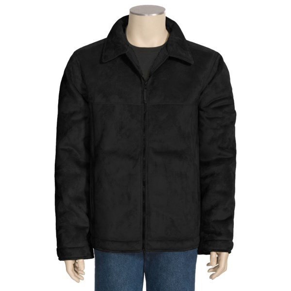 10,000 Feet Above Sea Level Pacific Teaze Jacket - Faux-Suede, Sherpa Lined (For Men)