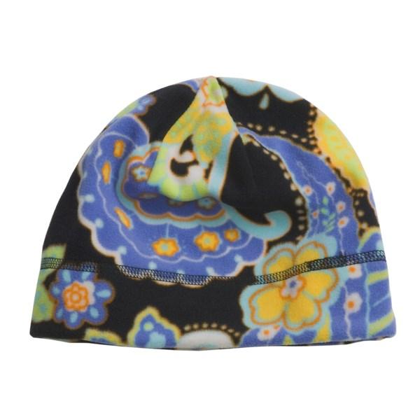photo: Turtle Fur Printed Fleece Beanie Hat