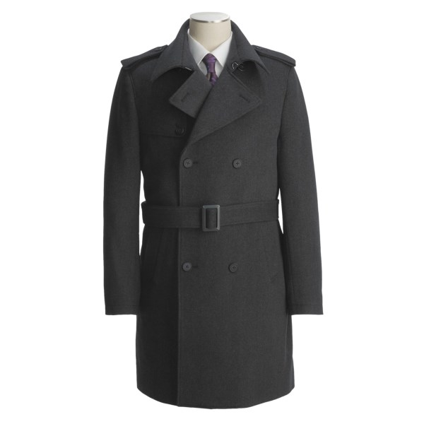 Jacob Siegel Belted Trench Coat - Twill (For Men)