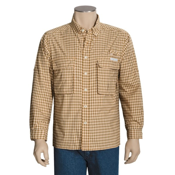 ExOfficio Air Strip Lite Micro Plaid Shirt - UPF 30, Long Sleeve