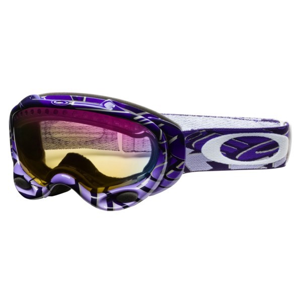 Oakley A-Frame Snowsport Goggles - Asian Fit