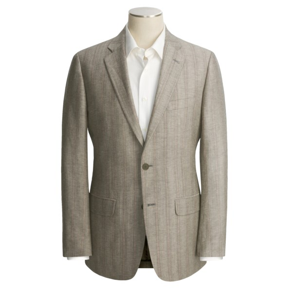 Sporting Goods Stores John Varvatos Star USA Stripe Sport Coat - Linen-Wool (For Men)