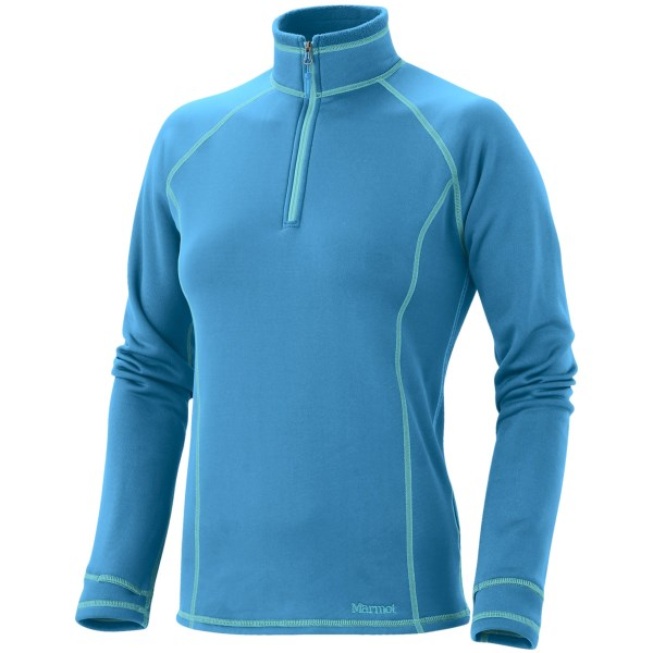 photo: Marmot Power Stretch Half Zip Pullover