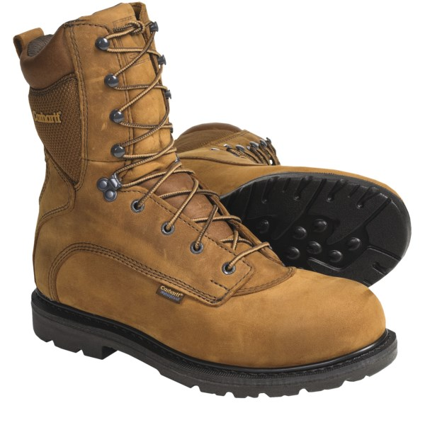 photo: Carhartt 8 inch Work Boots - Waterproof, Leather