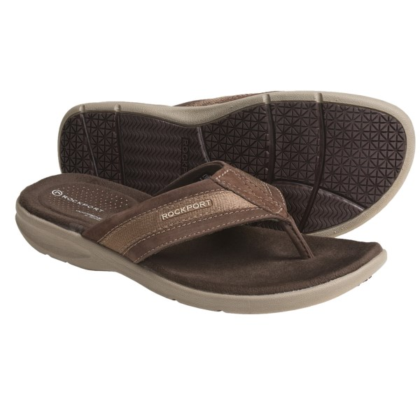 Rockport Sailboat Circle Thong Sandals