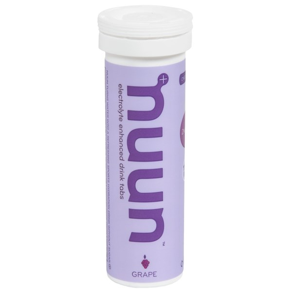 Overstock . Nuun's The Original electrolyte replacement tabs are easy to use, great tasting active hydration with no sugar and important electrolytes. They take up minimal space and recharge your hard-working body during or after a long, strenuous workout. Available Colors: CITRUS FRUIT, FRUIT PUNCH, LEMON LIME, STRAWBERRY LEMONADE, TRI-BERRY, CHERRY LIMEADE, GRAPE.