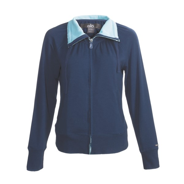 Alo Relax Zip Jacket (For Women)