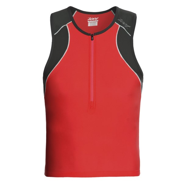 Zoot Sports Endurance Tri Tank Top - Zip Neck (For Men)