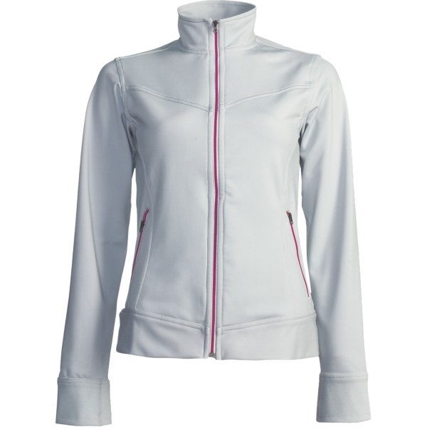 photo of a Skirt Sports fleece jacket