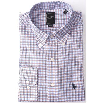 Lux-ID 202099  U.S. Polo Assn. Check Dress Shirt - Long Sleeve (For Men)