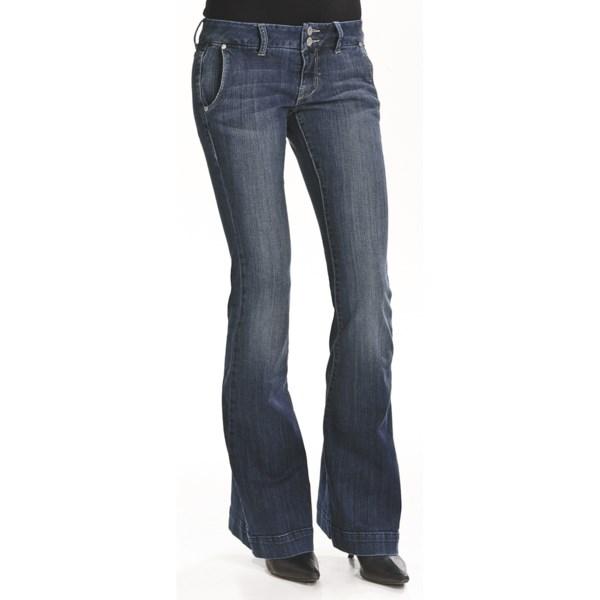 William Rast Jade Trouser Denim Jeans (For Women)
