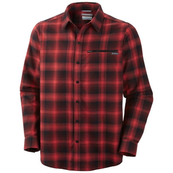Columbia Cool Creek Plaid Long Sleeve Shirt