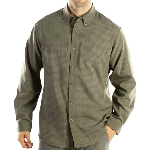 photo: ExOfficio Trifecta Check Long-Sleeve Shirt