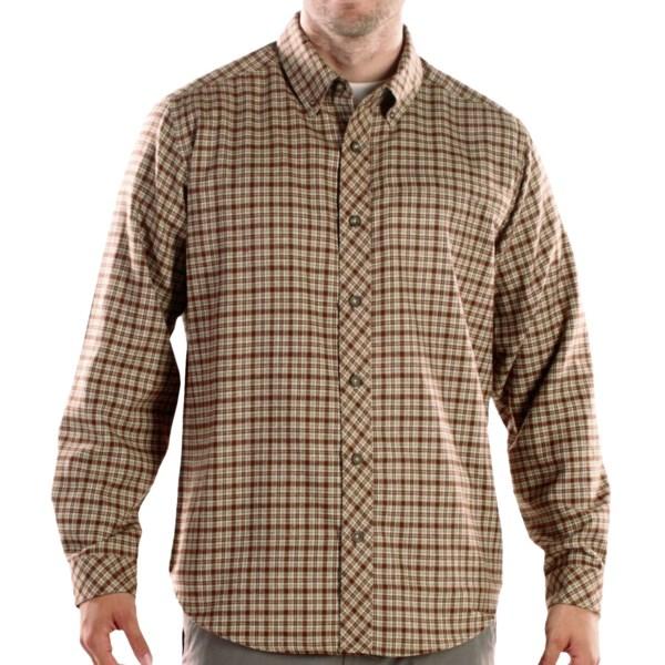 ExOfficio Trailing Off Micro Plaid Long-Sleeve Shirt