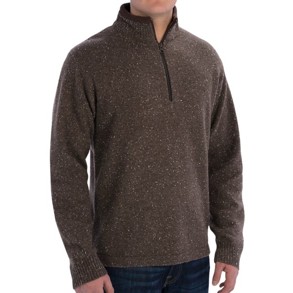 Woolrich Granite Springs Sweater - Zip Neck, Lambswool (For Men)