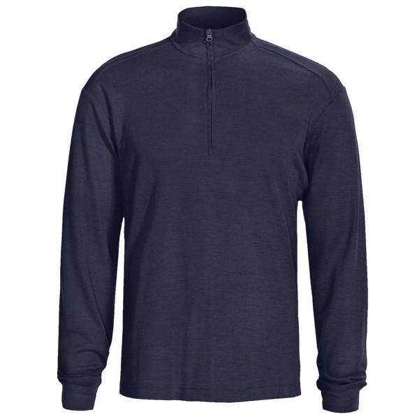photo: Woolrich Territory Merino Half Zip Shirt