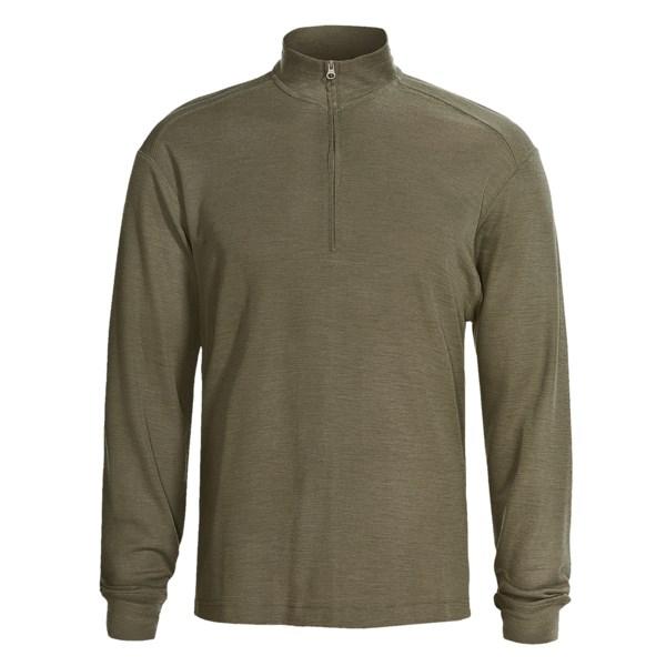 Woolrich Territory Merino Half Zip Shirt