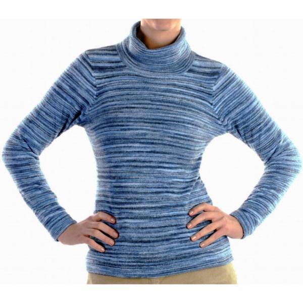 photo: ExOfficio Irresistible Neska Stripe Turtle Neck Sweater