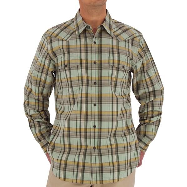 Royal Robbins Clint Plaid Shirt - Long Sleeve (for Men)