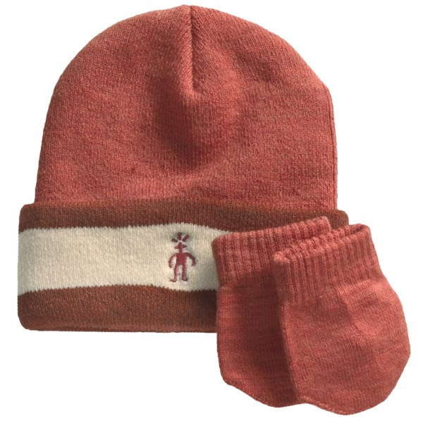 photo: Smartwool Cuffed Beanie Hat & Mitten Set