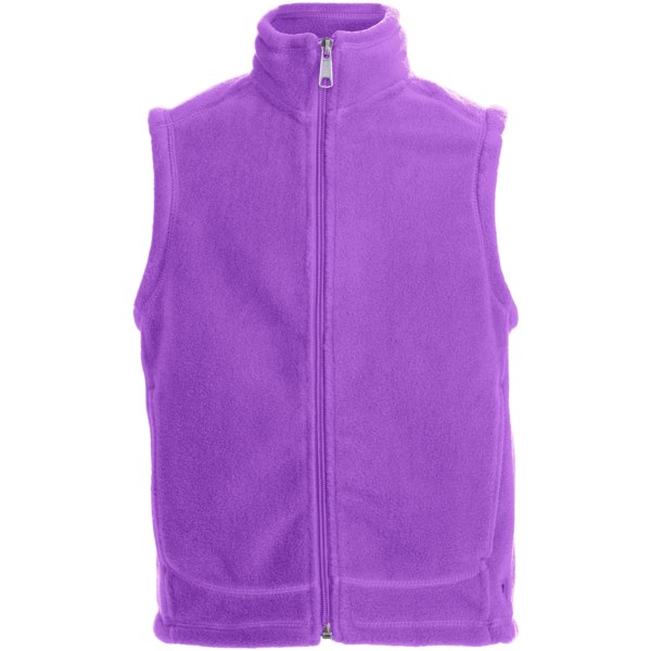 White Sierra Sierra Mountain Fleece Vest (For Youth)