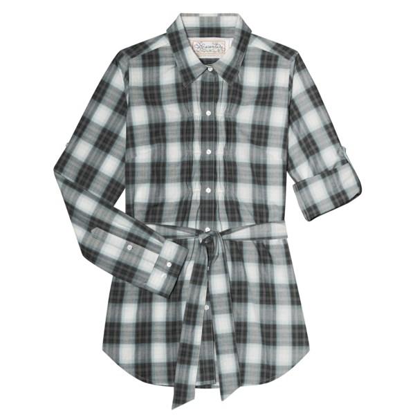 Discount clothing stores Aventura Clothing Bradlee Tunic Shirt - Organic Cotton, Long Sleeve (For Women)