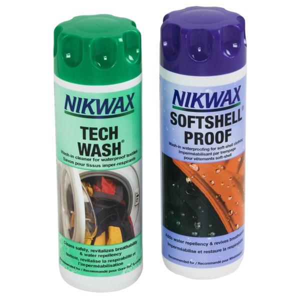 Nikwax SoftShell DuoPack