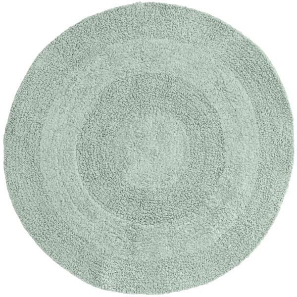 Espalma Reversible Round Bath Rug - Cotton