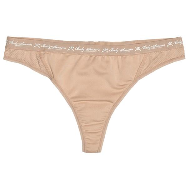 Terramar Body Sensors Tech Jersey Panties - Thong (for Women)