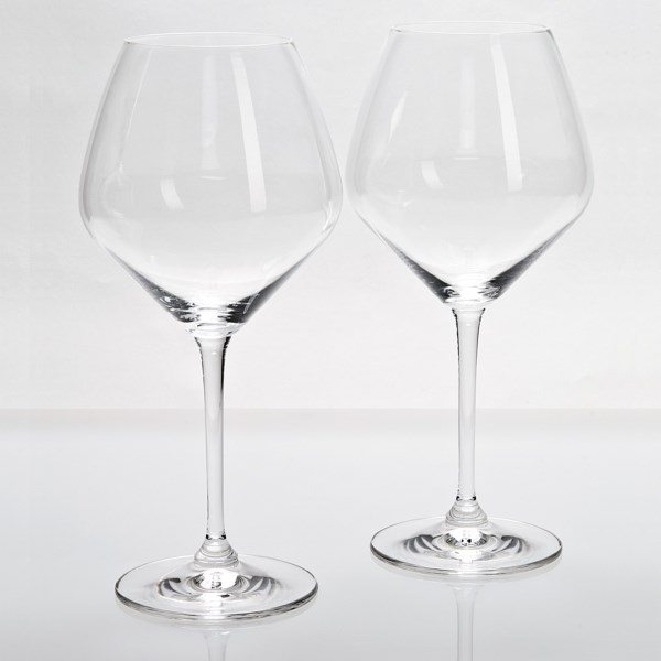 Riedel Heart To Heart Pinot Noir Wine Glasses - Set Of 2