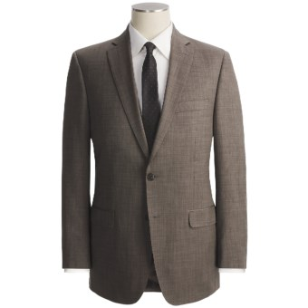 Lux-ID 202472  Calvin Klein Tic Weave Suit - Slim Fit, Wool (For Men)