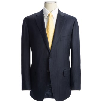 Lux-ID 202429  Isaia Tonal Stripe Suit - Wool (For Men)