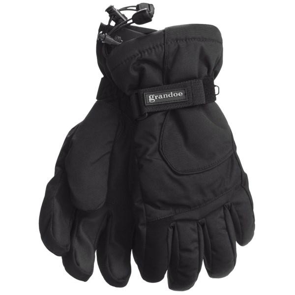 Grandoe Rattler Snow Sport Gloves - Waterproof, Insulated (For Men)