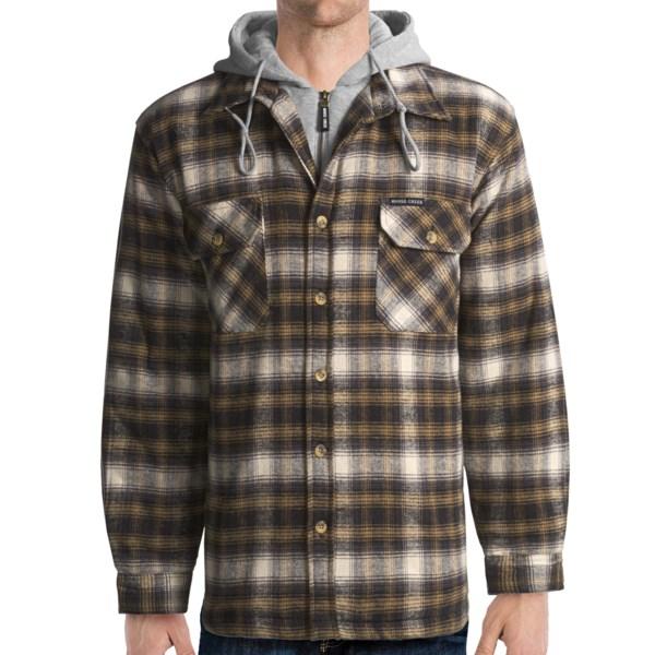 Moose Creek Quilted Hoodie Sweatshirt Dakota II (For Men)
