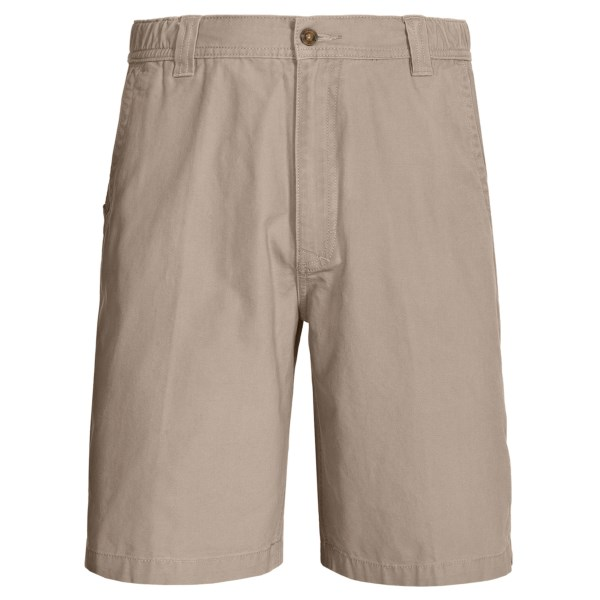 Woolrich Backpacker Peached Canvas Shorts (For Men)