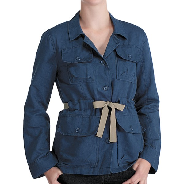 Lole Lina Safari Jacket Organic Cotton Linen (For Women)