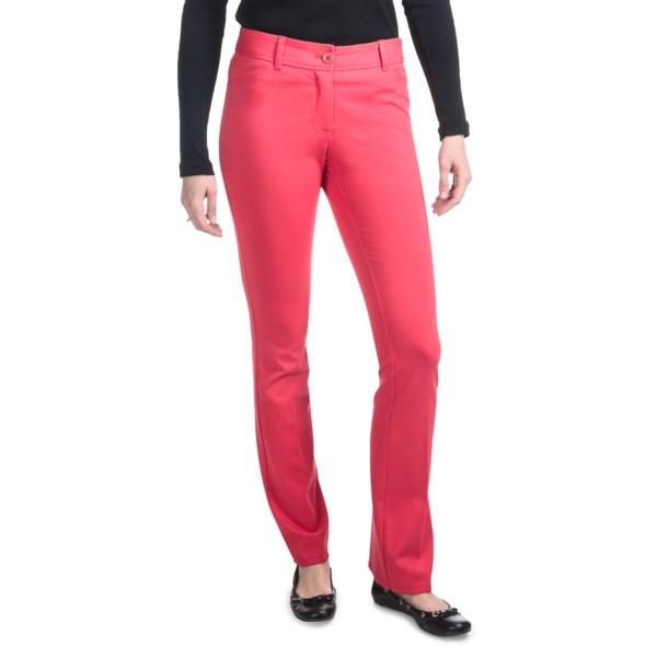 Amanda   Chelsea Ponte Baby Boot Pants - Low Rise (for Women)