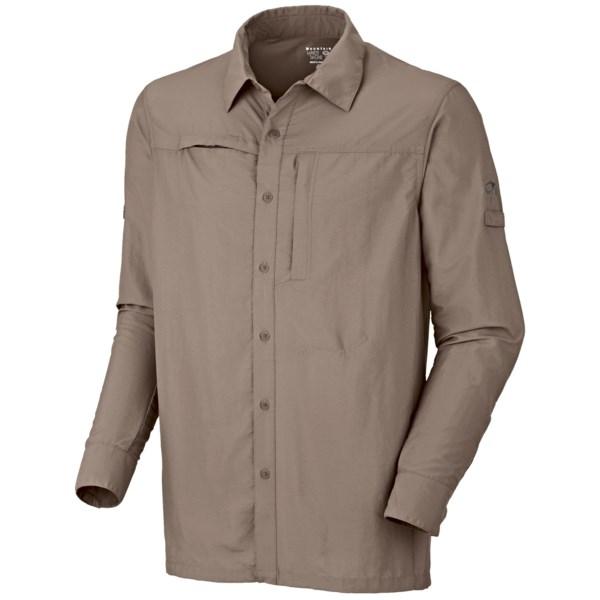 Mountain Hardwear Canyon Shirt - UPF 30, Roll-Up Long Sleeve (For Men)