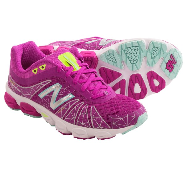 CLOSEOUTS . If lightweight isn't light enough, then it's time to meet New Balance's W890v4 running shoes. Seriously lightweight, this neutral trainer was designed with competition in mind, including its full ground contact NDuranceand#174; outsole that maximizes grip and gait transition. Available Colors: BLACK/WHITE, BERRY/WHITE. Sizes: 5, 5.5, 6, 6.5, 7, 7.5, 8, 8.5, 9, 9.5, 10, 10.5, 11.