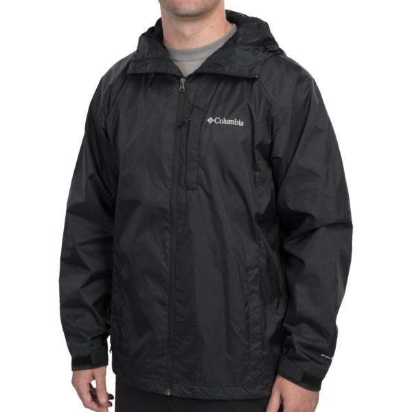 Columbia Straight Line Rain Jacket