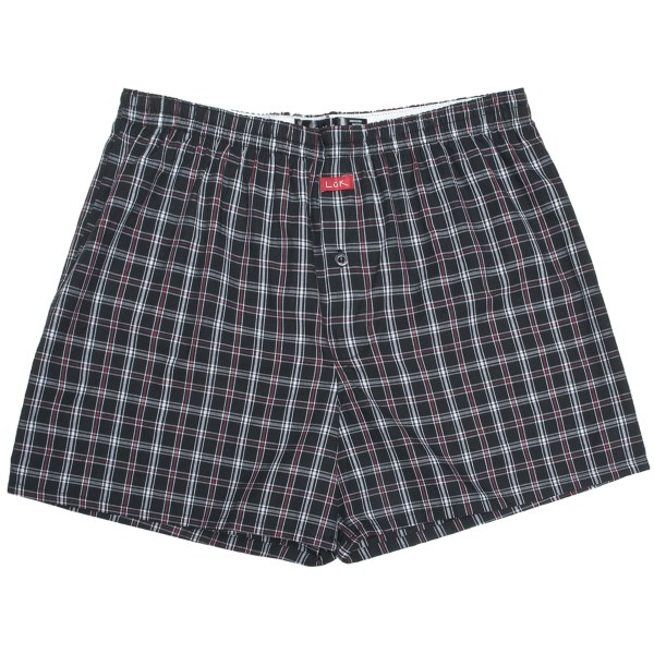 Luk Cotton Plaid Boxer Shorts - Underwear (For Men)