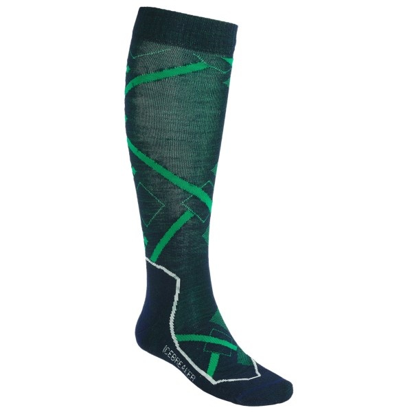 Icebreaker Ski+ Lite Socks - Merino Wool, Over-the-Calf (For Men and Women)