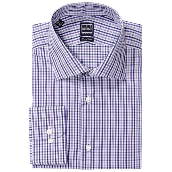 Ike Behar Black Label Check Dress Shirt - Long Sleeve (For Men)