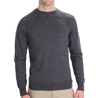 Lux-ID 191300  Woolrich Moccasin Run Sweater - Merino Wool, Crew Neck (For Men)