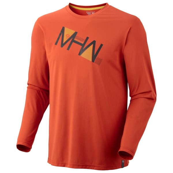 Mountain Hardwear MHW Angle L/S Tech T